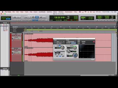 Create acapella from stereo track in Protools