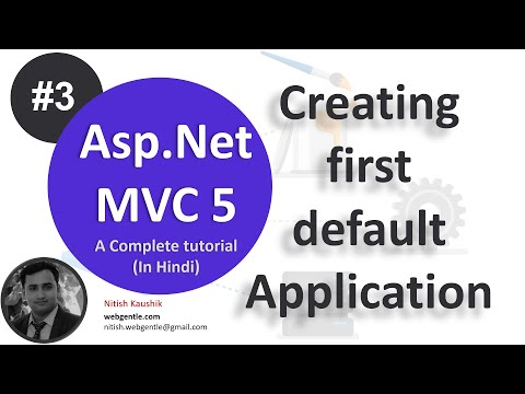 Part - 3 | Create default MVC 5 Application | mvc tutorial for beginners in .net c#