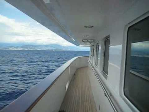 From Cannes to Monaco by boat