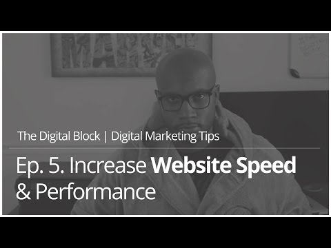 Increase Website Speed & Performance | Ep.5