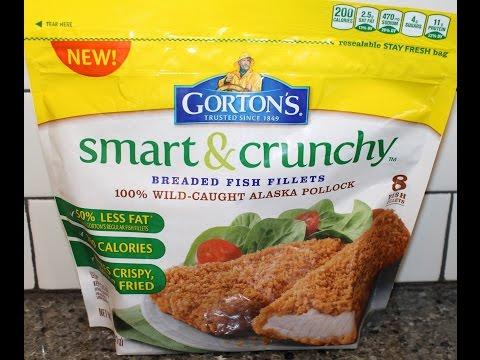 Gorton's Smart & Crunchy Breaded Fish Fillets Review