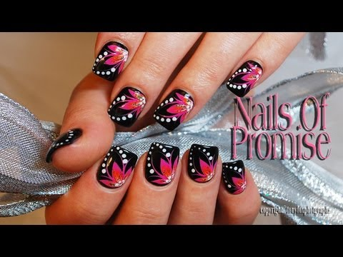 Live Nail Art Tutorial. Meditation. Nails Of Promise