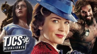 Is Mary Poppins Ruining The Aquaman, Bumblebee, Alita Party?