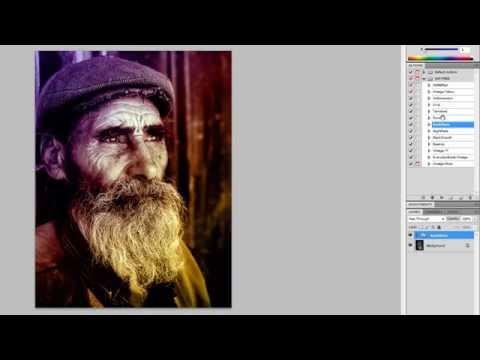 Photoshop CS5 - HDR Effect Preset + Actions - Tutorial