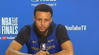Stephen Curry Calls Raptors' Fans Actions Stupid For Heckling His Mom & Dad After Game 5!