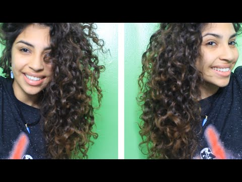 How To Diffuse Curly Hair