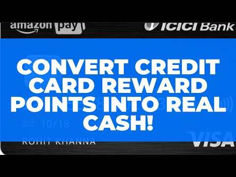 Convert Credit Card Reward Points into Real Cash