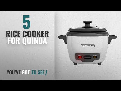 Best Rice Cooker For Quinoa [2018]: BLACK+DECKER 3-Cup Cooked/1.5-Cup Uncooked Rice Cooker,