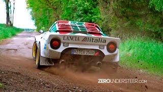 Hunsrück Rallye Sprint 2017   historic cars & gravel action