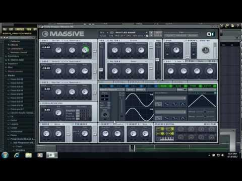 NI Massive: How to make a FILTHY Dubstep Wobble
