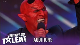 Dev: Singer Devil SHOCKS Everyone With An Amazing QUEEN Cover!!| Britain's Got Talent 2020