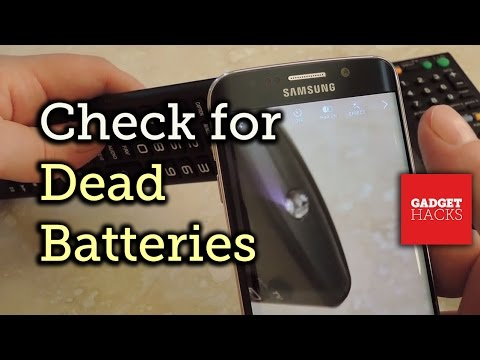 Use Your Smartphone to Check for Dead Remote Batteries [How-to]