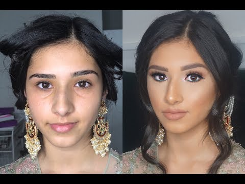 Indian | Bollywood | South Asian Makeup From Start to Finish - @blueroseartistry