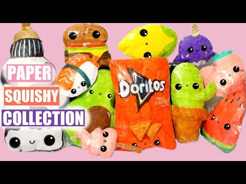 PAPER SQUISHY COLLECTION #1