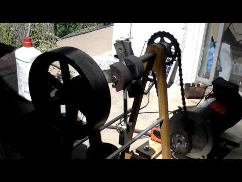 Stirling Engine with Generator