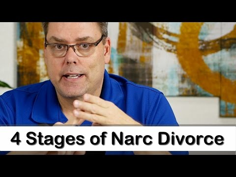 4 Stages of a Narc Divorce