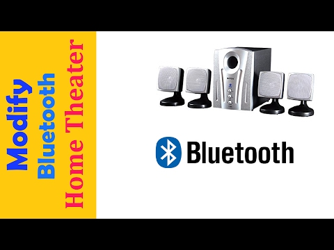 How to Convert a Home Theater to Wireless (Bluetooth)