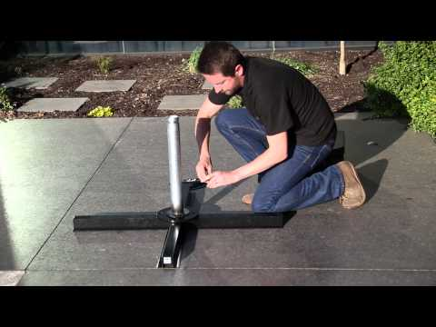 Aurora Umbrella Weighted Base Assembly 1080p