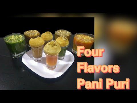 Pani Puri | Four Flavors