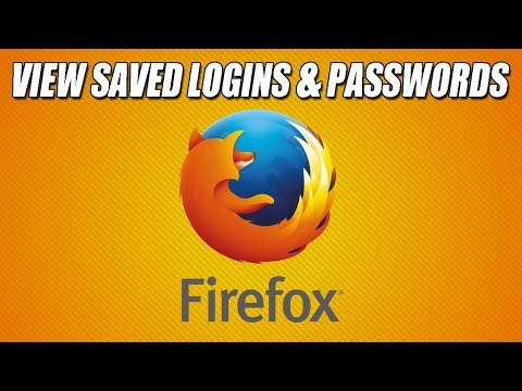 How To Show Your Firefox Logins and Passwords Tutorial | Recover Saved Passwords