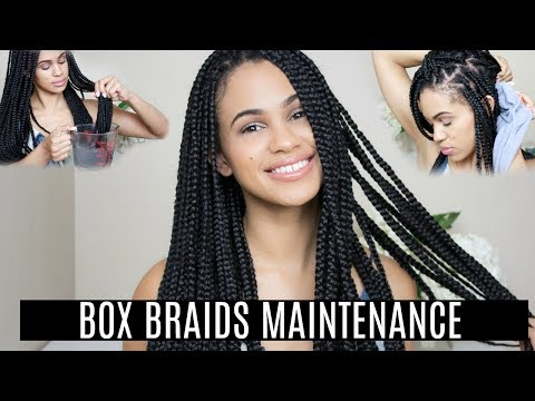 How To Maintain Box Braids | Protective Styles