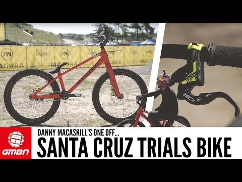 Danny MacAskill's One Off Santa Cruz Trials Bike | GMBN Pro Bikes