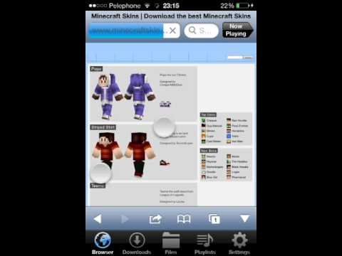 How To Change Your Minecraft pe 0.9.5 skin
