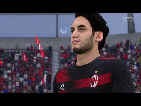 [FIFA 18] Realistic Sliders - Harder than Legendary - Arsenal vs Milan Full Gameplay