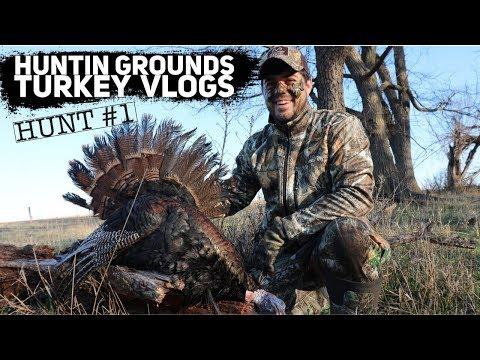 Nebraska Turkey RUN DOWN - Turkey VLOG #1  S9