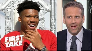 I won't call Giannis 'MVP' until he proves it in the playoffs - Max Kellerman   First Take