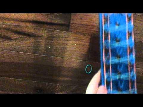 How to make a infinity bracelet on crazy loom