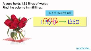 Converting Litres To Millilitres