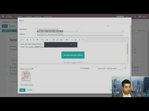 Odoo Sales Management - Manage Your Opportunities & Sales Pipeline