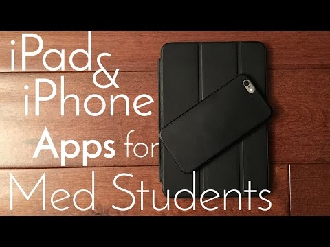 iPhone and iPad Apps for Premeds and Med Students