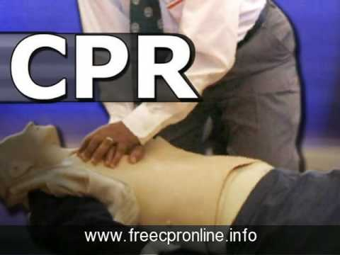free cpr online certification classes