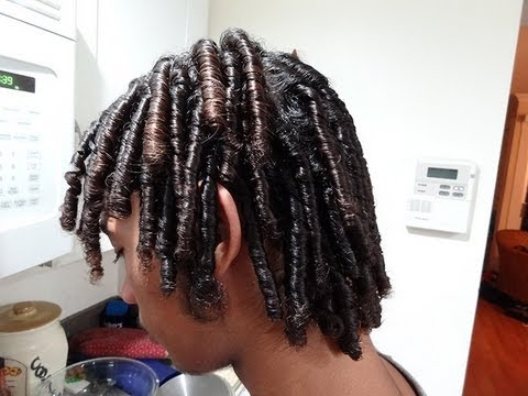 Starter Locs on Loose Textured Hair: lil Man's Journey
