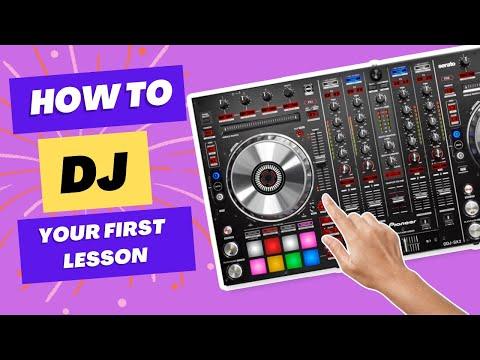First 10 minutes on DJ Decks   Beginner DJ lessons .com