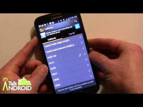 Featured Android App: Internet Radio [Music & Audio]