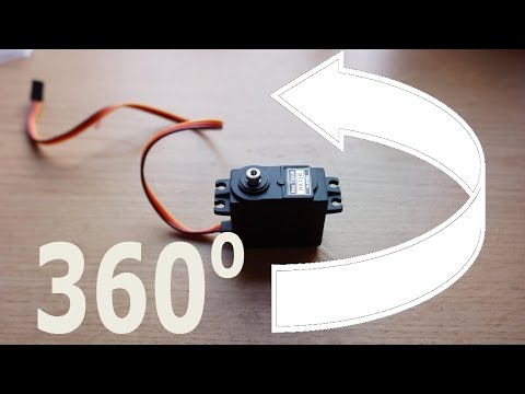 How to make a Servo 360 EASY!