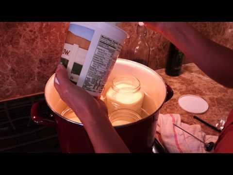 Raw Milk Yogurt.