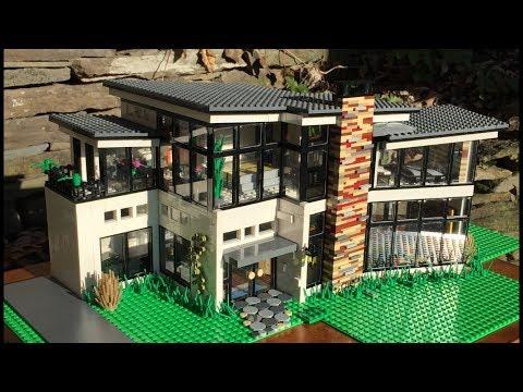 Ultra Modern LEGO Mansion!