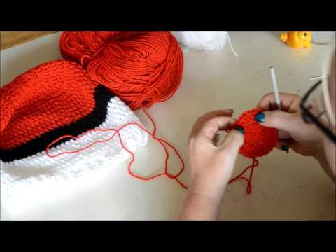Pokemon slouchy hat - Crochet - Tutorial - English
