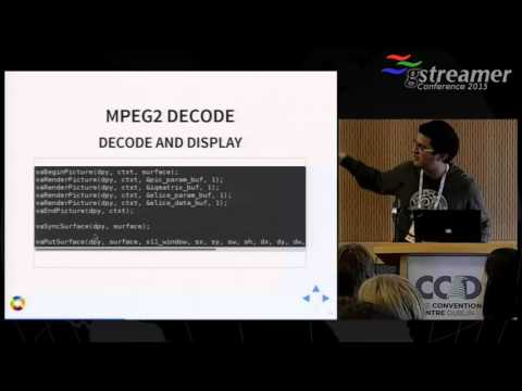 GStreamer-VAAPI: Hardware-accelerated encoding and decoding on Intel hardware (GstConf 2015)