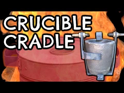 Foundry Crucible Cradle by VegOilGuy