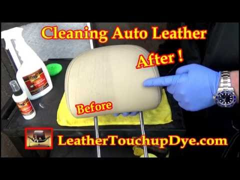 Automotive Leather Cleaning and Protection