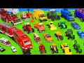 Download           Concrete Mixer, Fire Truck, Tractor, Garbage Trucks, Cars & Trains   Toy Vehicles for Kids MP3,3GP,MP4