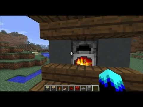Furnace Indicator Light Tutorial for Minecraft 1.7