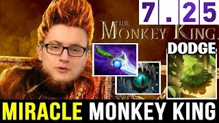 MIRACLE Monkey King Insane Mischief Plays — 7.25 Hard Game Dota 2