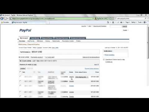 How to Create Paypal Shipping Label