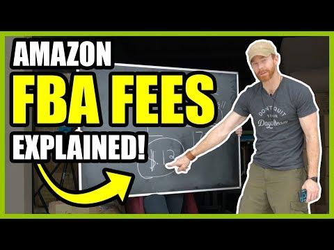 FBA Fees on Amazon - Amazon Fees 2018
